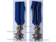 Belgium Belgian Congo WW1 Order Leopold II Knight's Cross MINI