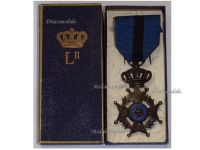 Belgium Belgian Congo WW1 Order Leopold II Knight's Cross Boxed by Fonson