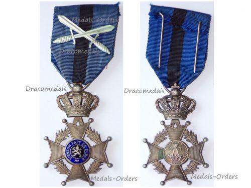 Belgium Belgian Congo WW2 Order Leopold II Knight's Cross with Swords
