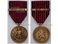 Belgium WW2 Belgian Army Volunteers Medal Clasp 1940 1945 for Non Combatants