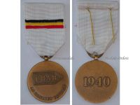 Belgium WW2 CRAB Recruiting Centers Belgian Army France 1940 Military Medal Decoration WWII Award French