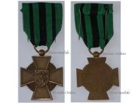 Belgium WW2 Cross Escapees Military Medal WWII 1940 1945 Belgian Decoration Award