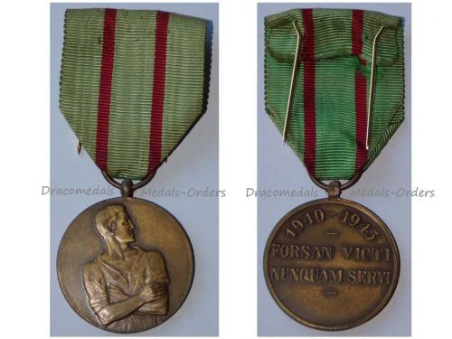 Belgium WWII Defaulters Commemorative Resistance Military Medal 1940 1945 Belgian Decoration Forced Labor No-Show Following Leave