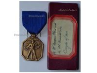 Belgium WWII Group Groupe G Resistance Commemorative Military Medal WW2 1940 1945 Belgian Decoration Boxed by Galere
