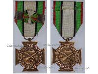 Belgium Clandestine Press Resistance WW2 Officer Rosette Medal Military Decoration Belgian WWII 1940 1945