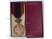Belgium WW2 Prisoners of War Medal Boxed by Van Hove-Baugniet