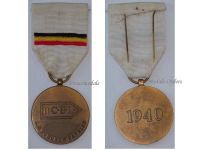 Belgium WW2 RCBL Recruiting Centers Belgian Army France 1940 Military Medal Decoration WWII Award Flemish