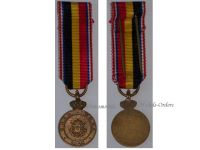 Belgium WW2 Medal for the Volunteers of the Belgian Army Recruitment Centers in France 1940 Bilingual Version CRAB RCBL MINI