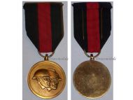 Belgium WW1 WW2 National Federation Volunteers Military Medal Belgian Decoration Award WWI WWII 1914 1940