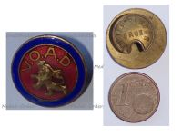 Belgium WW2 Badge for the Support of the Widows Orphans and Beneficiaries VOAD by Pirsch