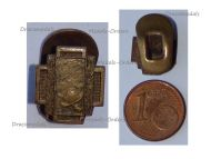 Belgium WW1 Lapel Pin Fire Cross 1914 1918 Badge MINI