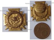 Belgium WW1 Fire Cross Badge 1914 1918 by Waucquez Large Type