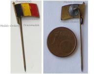 Belgium WW1 Belgian Flag Patriotic Stickpin Badge