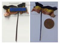 Belgium WW1 Patriotic Badge Comite Stickpin Belgian Relief