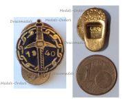 Belgium WW2 Lapel Pin Combatants Prisoners of War of the Belgian Campaign 1940 Badge by Fonson