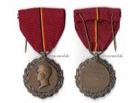 Belgium WW1 King Albert National Recognition Medal Belgian Humanitarian WWI 1914 1918 Decoration
