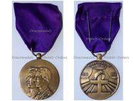 Belgium WW1 Armistice 50th Anniversary Great War Military Medal  1918 1968