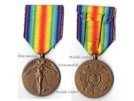 Belgium WW1 Victory Interallied Medal Laslo Unofficial Type 1A by Leisek
