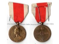 Belgium WW1 National Alimentation Relief Gold Civil Military Medal Belgian Decoration WWI 1914 1918 Great War Award
