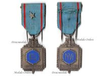 Belgium WW1 War Wounded Mutilated Military Federation Medal Silver 2nd Class Star Citation Belgian Wound Decoration WWI 1914 1918