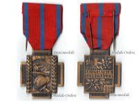 Belgium WW1 Fire Cross 1914 1918 Type 1