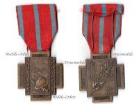 Belgium WW1 Fire Cross 1914 1918 Type 2