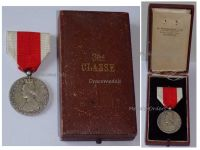 Belgium WW1 National Alimentation Relief Silver Civil Military Medal Belgian Decoration WWI 1914 1918 Great War Award by H. Walravens Boxed