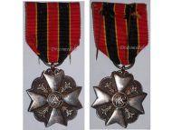 Belgium WW1 Civil Decoration Bravery Devotion Philanthropy Silver Medal Belgian Award WWI 1914 1918