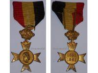 Belgium Commemorative Cross King Leopold I Military Medal 1831 1865 Belgian Decoration Award