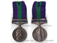Britain General Service Medal 1962 with Clasp Malaya to RAPC Sergeant