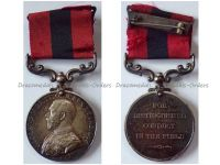 Britain WW1 Distinguished Conduct Military Medal King George V WWI 1914 1918 British Decoration Great War Unnamed Foreign Recipients