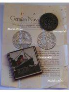 Britain WW1 RMS Lusitania Sinking Medal British Military Propaganda Patriotic Great War WWI 1914 1918 Boxed Leaflet