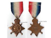 Britain WW1 Mons Star 1914 Military Medal Royal Field Artillery RFA WWI 1914 1918 British Great War