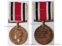 Britain WW2 Special Constabulary Long Service Medal King George VI 1937 1948