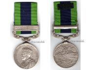 Britain India General Service Medal 1909 with Clasp North West Frontier 1930-31 to Baluh Regiment Sepoy