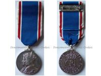 Britain Coronation Medal 1937 King George VI Queen Elizabeth Military Civil Decoration British Commonwealth by Spink