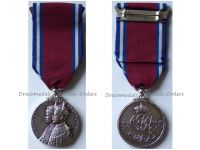 Britain Silver Jubilee Medal King George V Queen Mary 1910 1935 Civil Military Decoration British Commonwealth
