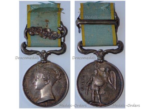Britain Crimea Medal 1854 1856 with Clasp Sebastopol