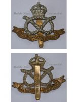 Great Britain WW1 South Staffordshire Regiment cap badge WWI 1914 1918 British Army Insignia Kings Crown Great War Maker BP&Co