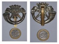 Great Britain WW2 Cornwall Light Infantry Cap Badge WWII 1939 1945 British Royal Army Insignia