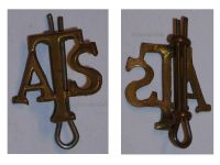 Great Britain WW2 Auxiliary Territorial Service ATS shoulder badge WWII 1939 1945 British Royal Army Insignia