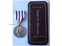 Britain WW2 King's Medal Service Cause Freedom 1939 1945 Military Decoration George VI British WWII Decoration Royal Mint Boxed