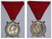 Bulgaria WW1 Royal Order of Merit Silver 2nd Class King Ferdinand 1908 1918