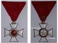 Bulgaria WW1 Royal Order St Alexander V Class 1881 Military Medal Bulgarian Decoration Great War 1914 1918