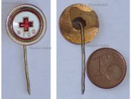 Bulgaria WWI Bulgarian Red Cross Stick Pin Badge Military Decoration Great War 1914 1918