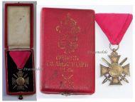Bulgaria WW1 Royal Order St Alexander VI Class 1881 Military Medal Bulgarian Decoration Great War 1914 1918