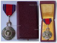 Cambodia Royal Order of Sahametrei Knight's Star Boxed by Arthus Bertrand