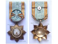 Comoros WW1 Royal Order of the Star of Anjouan Officer's Star by Chobillon