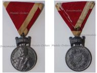 Croatia WW2 Order Crown King Zvonimir Iron Merit Medal