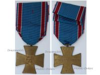 Czechoslovakia WWI Cross Volunteers Combatants Medal WW1 1918 1919 Czech Decoration Great War
